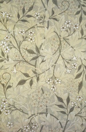Jasmine Wallpaper, 1872 by William Morris