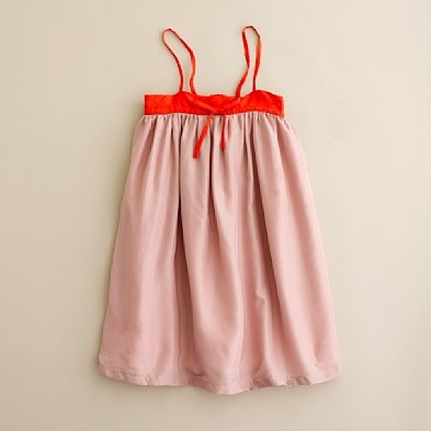 Good grief!  This super simple little girl's dress is on sale for $55?!  This would be SO easy to make!