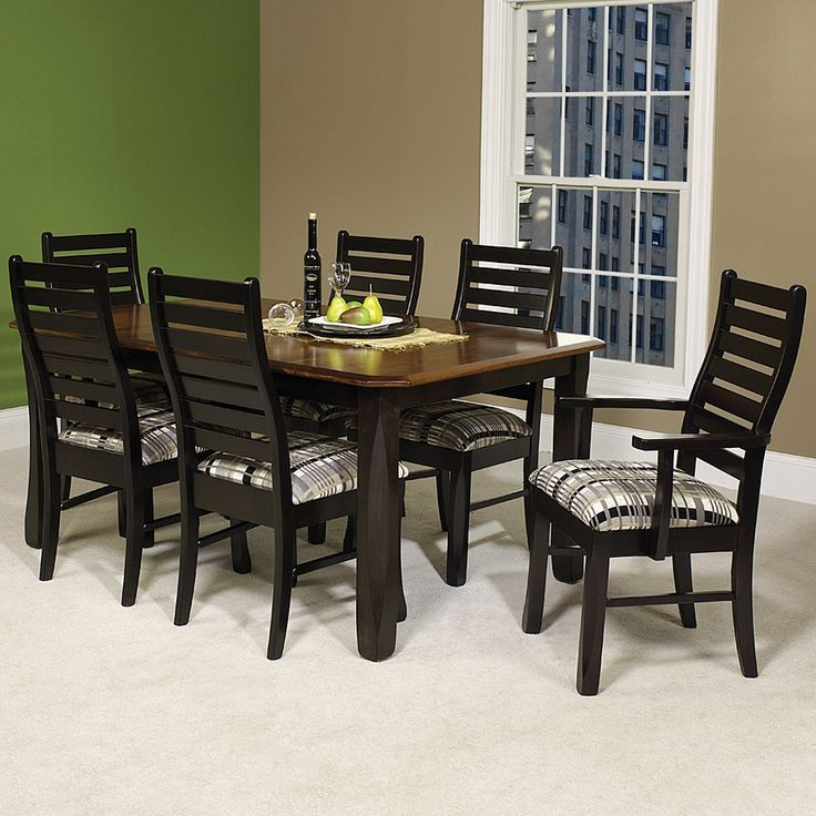 Amish Dining Room And Kitchen Table And Chair Sets From