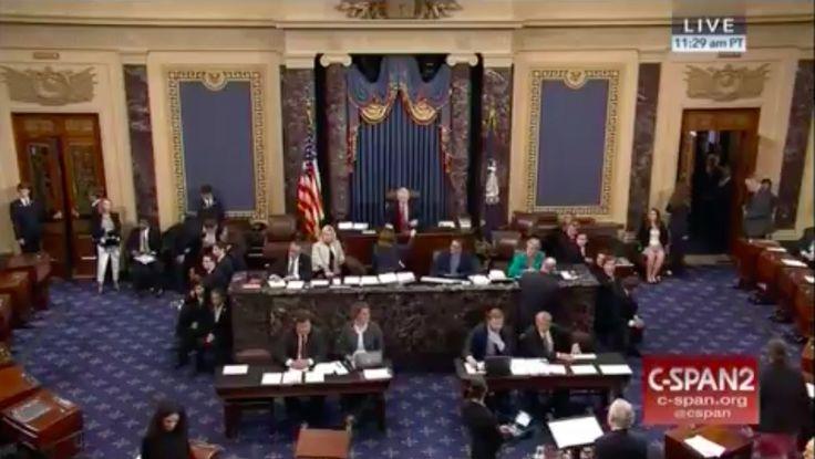 'Kill the Bill,' shout protesters as U.S. Senate votes on starting GOP health bill debate