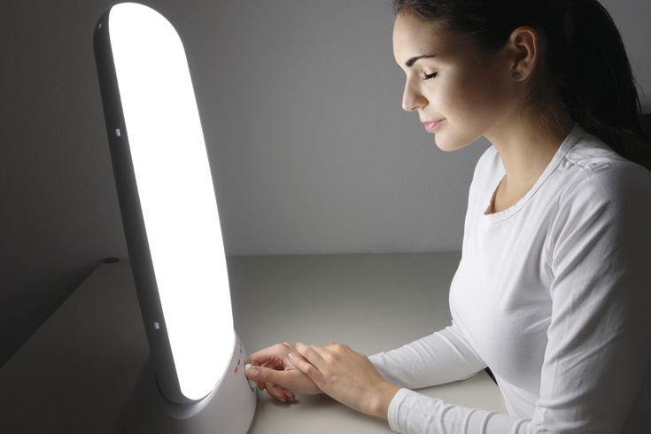 Here's why you might try using white-light therapy to improve mood and sleep quality over the dark winter months.