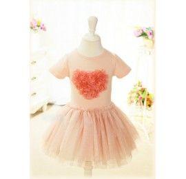 MOLLY Pink Heart Dress