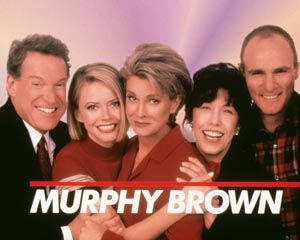 Murphy Brown (1988–1998) ~~ Comedy ~~ It's a difficult life but she's got the…