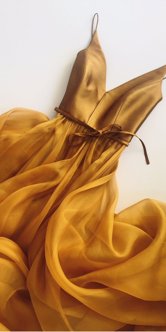 Spaghetti A Line V Neck Formal Cheap Long Prom Dresses, WP002 | Bubble Gown #pro…