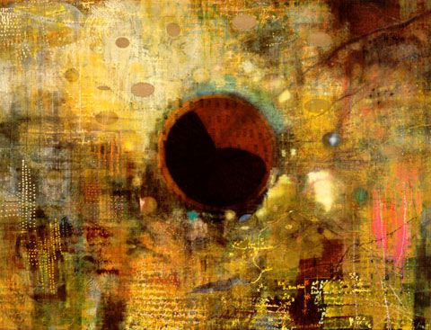 Interior Lowlands; Still the Restless Whispers Never Leave Me, 1999 by Landon Mackenzie. Post-Painterly Abstraction. abstract