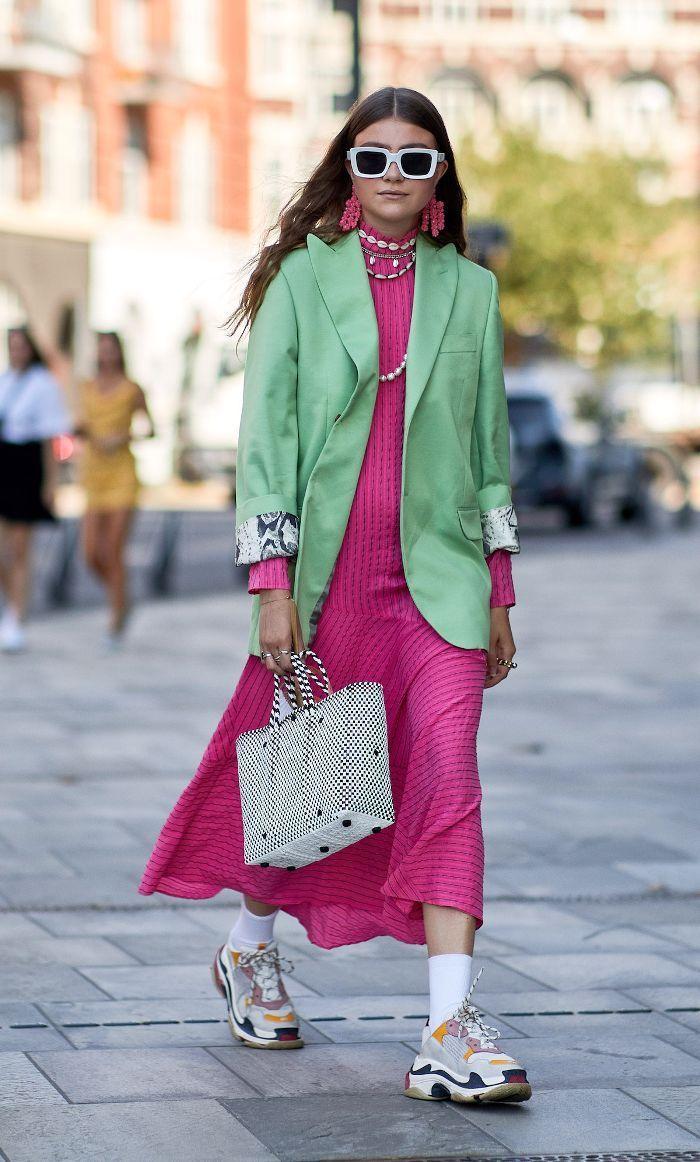 41f6cceded39f Copenhagen Fashion Week Street Style Ganni Pink Dress.  fashion   womensfashion  fashionoutfits  fashionlove  outdits  style