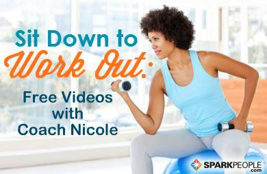 Are you injured or living with limited mobility issues? You can still exercise! Check out Coach Nicole's seated workouts for a simple, modified way to get fit. via @SparkPeople