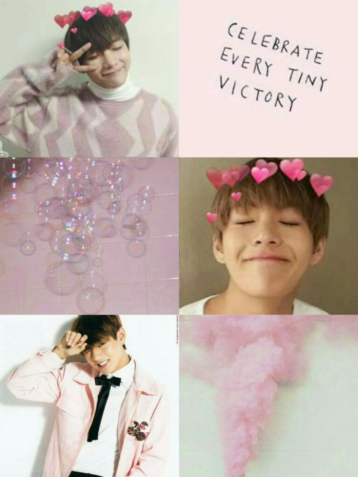aesthetic bts pink v wallpaper drawing images pencil