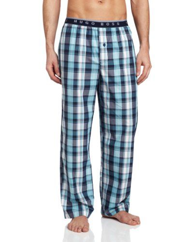 Mens Pajama  - Pin it :-) Follow us .. CLICK IMAGE TWICE for our BEST PRICING ... SEE A LARGER SELECTION of Mens Pajamas at        http://azgiftideas.com/product-category/mens-pajamas/ - men, gift ideas, mens wear - HUGO BOSS Men's Plaid Pajama Pant « AZ Gift Ideas