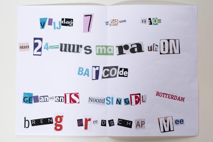 #24barcode, een 24H-marathon voor app-developers in de oude bajes van Rotterdam