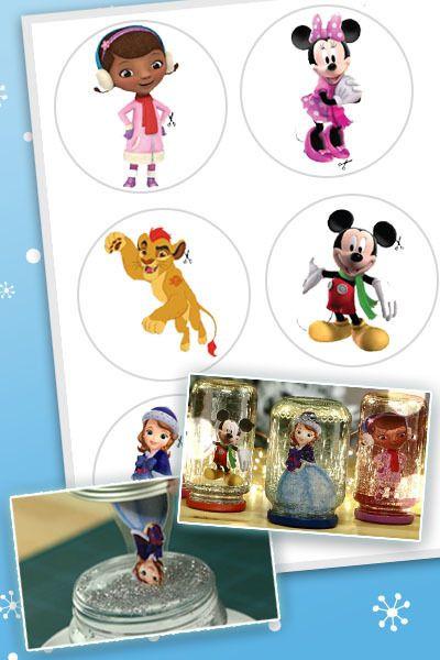 Disney Junior – Schneekugeln