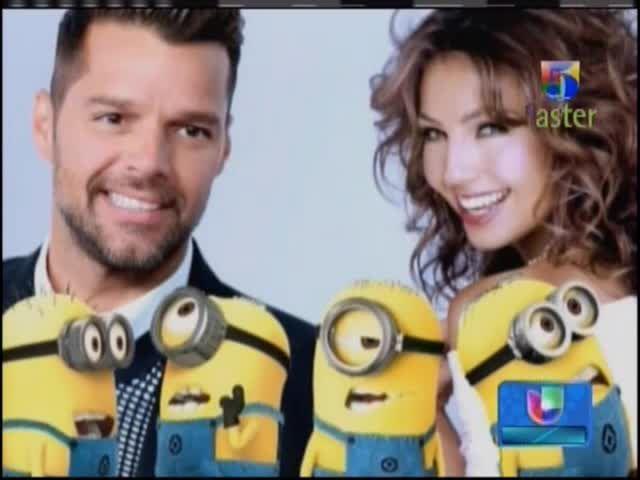Ricky Martin Habla De Su Experiencia Como Talento De Voz Para La Película De Los Minions #Video
