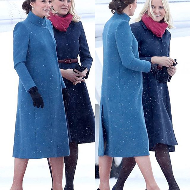 The Duke & Duchess have arrived in Norway today! 🇳🇴 Heavy snow meant the cancellation of their initial engagement of the day. Instead of going to Uppsala Airbase to see Gripen aircraft and be briefed on Sweden's defence capabilities, The Duke and Duchess of Cambridge got a briefing in Stockholm on the Swedish Armed Forces from Defence Minister Peter Hultqvist before their departure to Norway. After landing in Oslo, The Duke & Duchess were met by Crown Prince Haakon and Crown Princess…