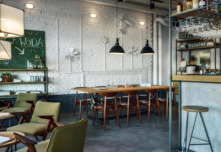 Oltre 25 fantastiche idee su stile caffetteria su for Bar stile industriale