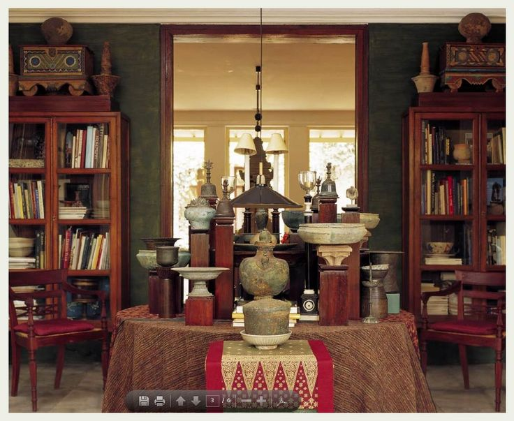 Jaya Ibrahim home - Java, Indonesia. Indonesian Furniture / Colonial