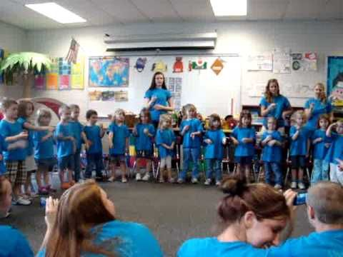 "Preschool Graduation: ""You've got a friend in me"" - YouTube"