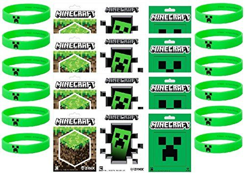 Any fan will love these easy DIY MINECRAFT creations. Swords, Pickaxes, working Torches, and Bricks. For decorating, party activities, or everyday play.
