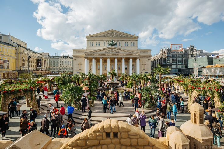 Best Moscow's free events in April