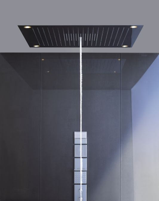 Shower head with built-in lights - AXOR SHOWER COLLECTION - 10623800 - Axor - Videos