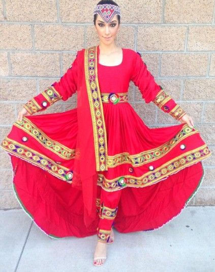 Nazanin Afghan Bridal Dress