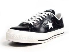 コンバース CONVERSE ONE STAR J 「made in JAPAN」 BLK/WHT