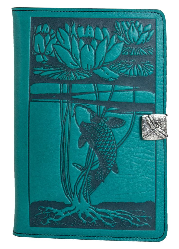 Leather iPad Mini Cover Water Lily Koi | 3 Colors