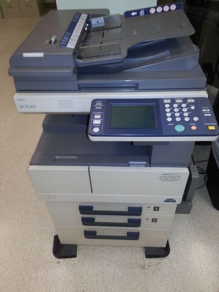 NEC IT3520 Copier/Fax Machine #NEC