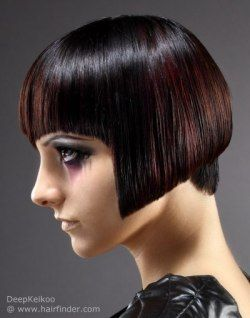 popular haircuts for 238 best bobs with bangs images on pettinature 9599