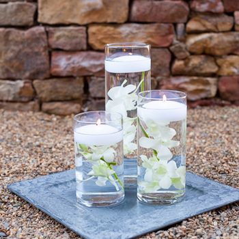 FiftyFlowers.com - Easy Dendrobium Orchid Centerpieces Trio Blooms...with Tie Dyed Orchids 12 Centerpieces for 234.99!