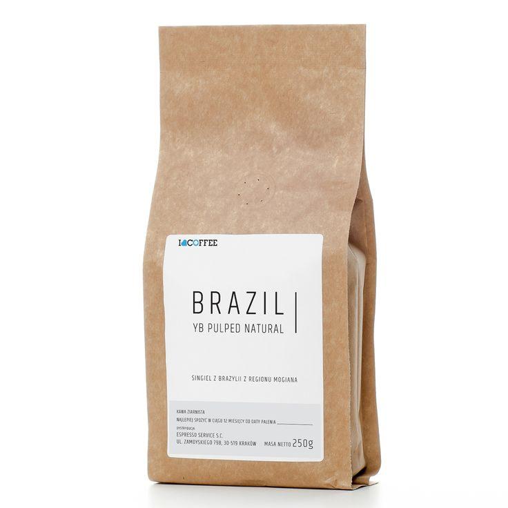 Kawa ziarnista I Love Coffee Brazil YB Pulped Natural 250g