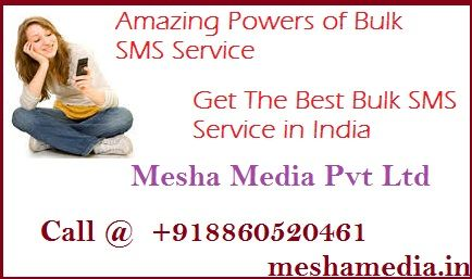 Do you want to promote your business services in India? Get best bulk sms service and boost business services with the best data support.  We are leading bulk sms company in India.Call Today
