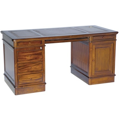 Chevalier - Large Office Desk  I would own this piece!