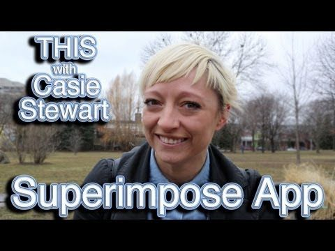 THIS with Casie Stewart: Superimpose App!  Learn about an awesome photography app here!