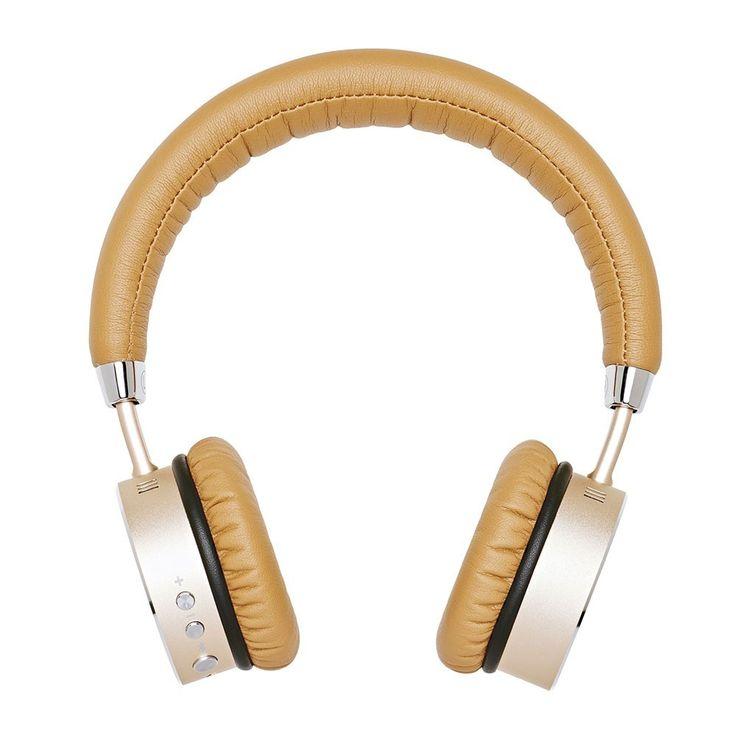 """WOOFit headphones - Trådløs frihed Super lækre trådløse høretelefoner fra SACKit med """"noise cancellation"""" funktionen. Gennemført design og meget høj kvalitet."""