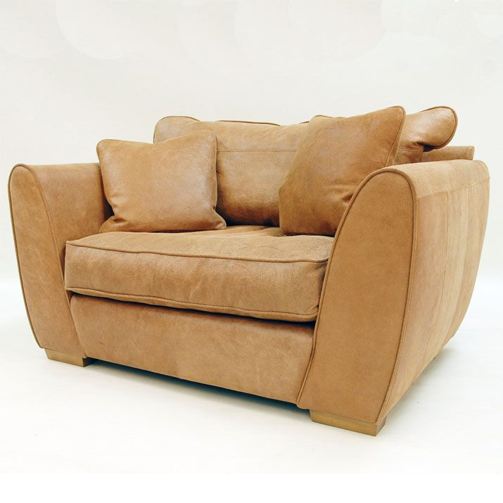 Collins and Hayes Golding Love Seat