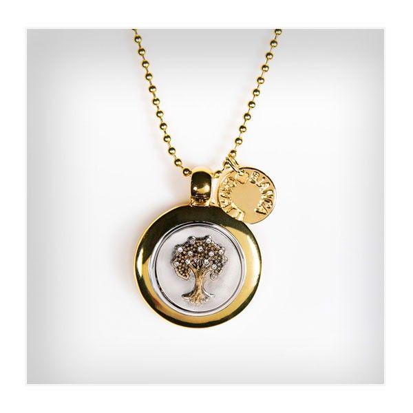 NASZYJNIK CHUNKS okrągły/DRZEWO ŻYCIA - Bianca Cavatti #Jewelry