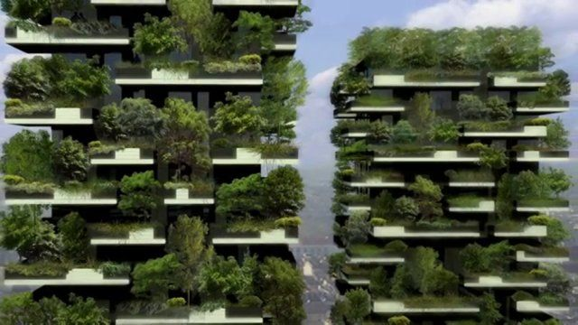 """Discovery channel report about """"Vertical forest"""""""