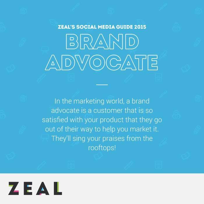 Social Media Glossary: Brand Advocate #SocialMedia #Marketing