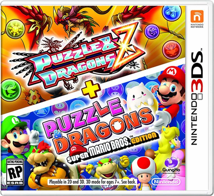 Puzzles and Dragons Z + Puzzles and Dragons Super Mario. Edition Review - Tech Girl