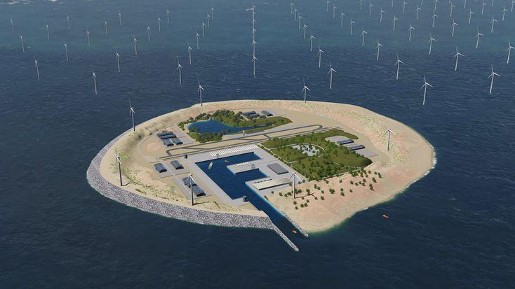 worlds largest wind farm tennet dogger island
