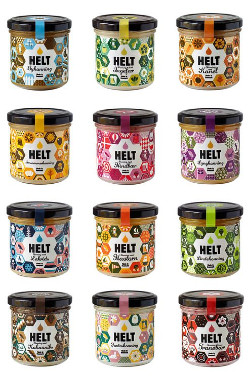 Helt Honey | The 25 Coolest Packaging Designs Of 2013