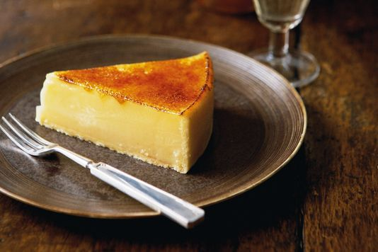 Lemon tart with lime zest recipe