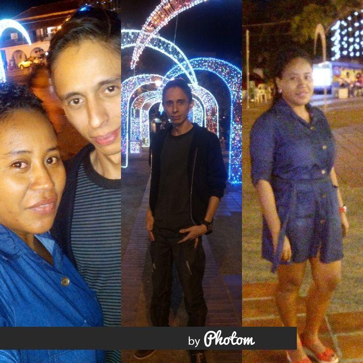 @Karen Rios y Yo.  Plaza Alfonso Lopez - Enero del 2017