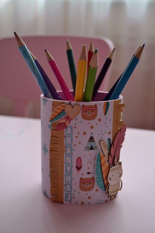 DIY pencilholder by Márta Kocur