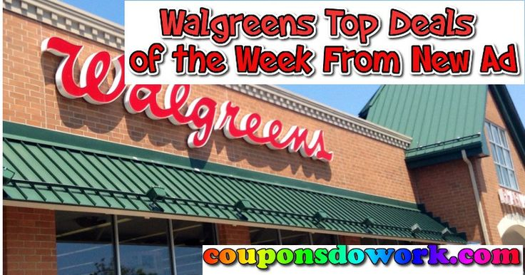 Walgreens Top Deals of the week from Ad 11/20 - http://couponsdowork.com/walgreens-weekly-ad/walgreens-top-deals-of-the-week-from-ad-1120/