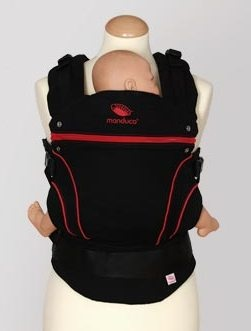 Manduca - Black Line. When you have a passenger this one is very convenient and comfy :)