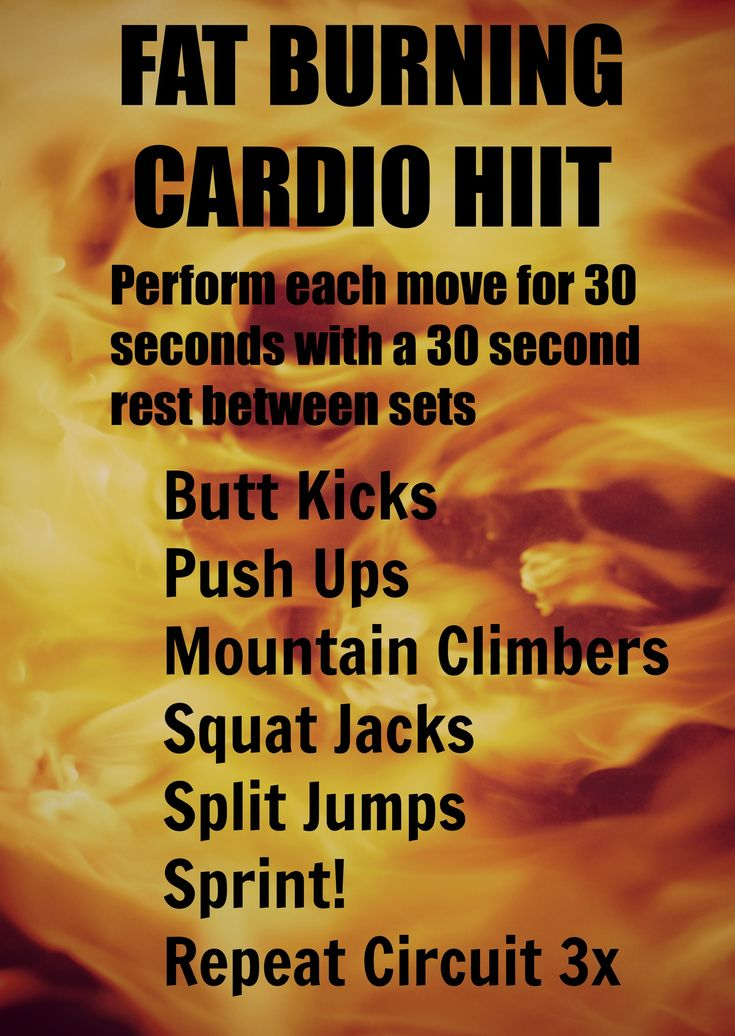 Crazy Fat Burning Workout- CrunchandLunch.com