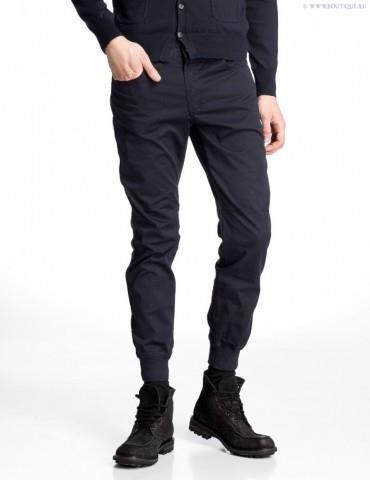 Купить чёрные зауженные джинсы