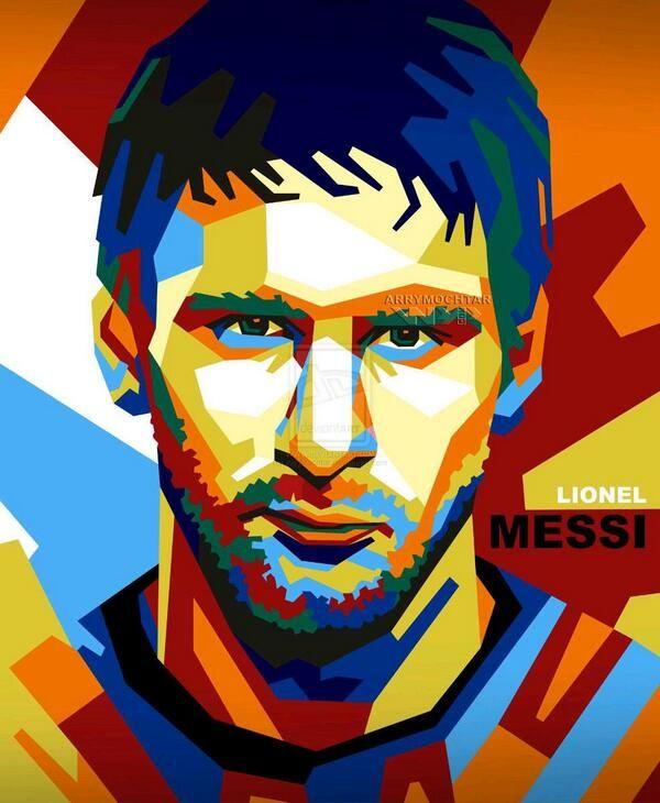Messi illustration #barcelona #argentina PinterestBob www.NewHomes288.com