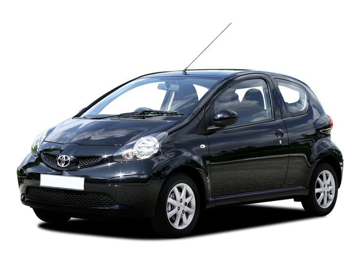 the ninth vehicle. Toyota Aygo. This was (is) a great car. Cheap, fast (well, only below 100 km/h that is).